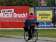 Kommunalwahlen in Brandenburg; ddp