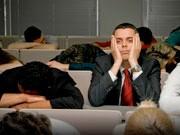 Müde durch PowerPoint, iStock