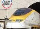 Verletzte bei Feuer im Eurotunnel (Bild)