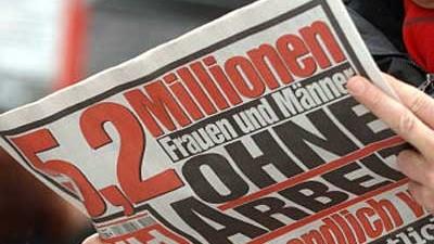 """Außenminister Steinmeier bei der """"Bild"""""""