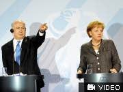 dpa, NEtanjahu, Merkel, Israel, Deutschland, Iran, Sanktionen, Konsultationen