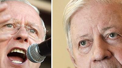 Helmut Schmidt Streit über Nazi-Vergleich