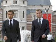 Nicolas Sarkozy, Dmitrij Medwedjew, dpa