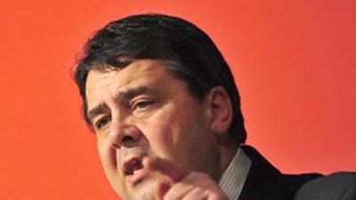 Sigmar Gabriel SPD-Chef Gabriel