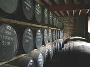 fasslager der glenkinchie-destillerie ; Diageo