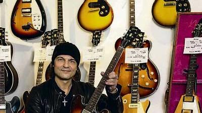 """Kultur Scorpions""""-Gitarrist"""