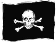 Piratenflagge, iStock