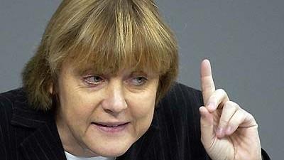 Merkel und der Irak-Krieg