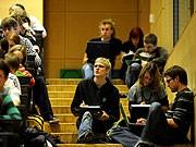 Universität Studenten Erschöpfung