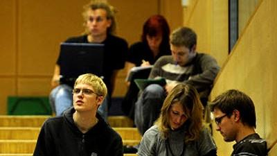 Studium Stress in der Uni