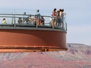 Reisen Enttäuschungen Grand Canyon Skywalk, ddp