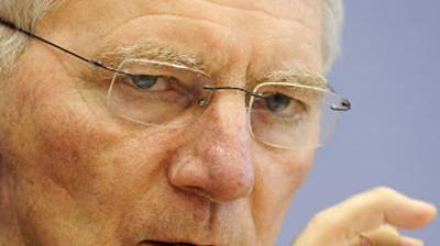 Wolfgang Schäuble Vor dem Krisengipfel