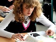 Mädchen Schule