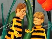 Augsburger Puppenkiste Merkel; dpa