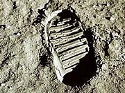 40 Jahre Mondlandung, dpa