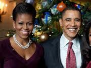 Grüne Weihnachten im Weißen Haus, Michelle Obama, Barack Obama; AP
