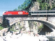 Gotthardbahn; Foto: SBB