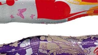 Neudesign von Coca-Cola-Flaschen