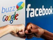Google Buzz Facebook