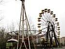 Verlassener Vergnügungspark in Pripyat