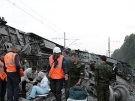 Bombe lässt Schnellzug entgleisen (Bild)