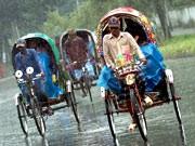 Rikschafahrer in Bangladesch. Foto: AFP