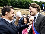 Nicolas und Jean Sarkozy