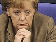 Bundeskanzlerin Angela Merkel Schwarz-Gelb Bundesregierung Partnerin FDP AFP