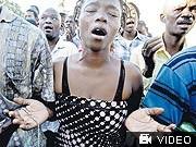 AP; Haiti, Trauer, Beten, Port-au-Prince, Erdbeben