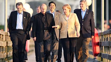 Merkel und Regierungschefs