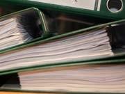 Akten Papierstapel
