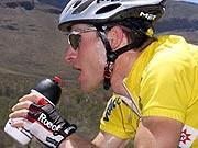 Plastikflasche, Sportler, dpa
