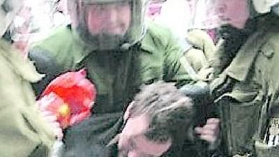 Zu Unrecht verurteilter Demonstrant