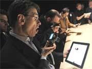 iPad-Vorstellung Foto, AP