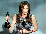 Kathryn Bigelow, Hurt Locker, Oscar, AFP