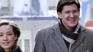 Bundesfamilienministerin Kristina Schröder und Ole Schröder; dpa