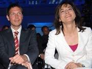 Maybrit Illner und René Obermann