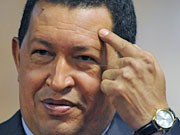 Chavez, AFP