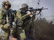 Krieg Waffen, israelische Soldaten