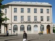 Verstaatlichte isländische Bank Landesbankinn, Foto: dpa