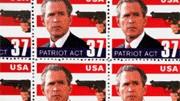 Umstrittene Bush-Breifmarke, AP