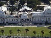 Haiti Präsidentenpalast zerstört; dpa