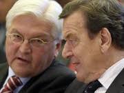 Gerhard Schröder Frank-Walter Steinmeier SPD, AP