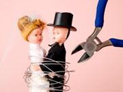 hochzeit; scheidung; ehe; ehepaar; trennung; partnerschaft;