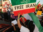 Iran, Proteste in Los Angeles,  AFP
