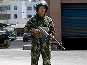 AP, Urumqi, China, Uiguren, Proteste, Soldat
