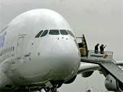 airbus a380 größtes passagier flugzeug der welt