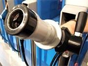 Biogas-Tankstelle; Foto: dpa