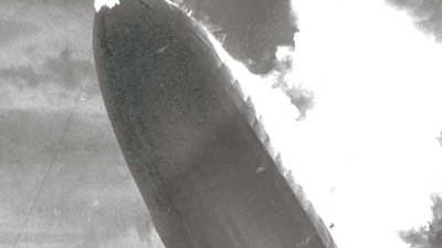 Luftschiff Luftfahrt Unglück Zeppelin Hindenburg