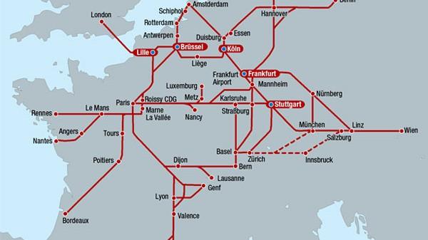 Eisenbahnnetz In Europa Auf Die Schnelle Auto Mobil